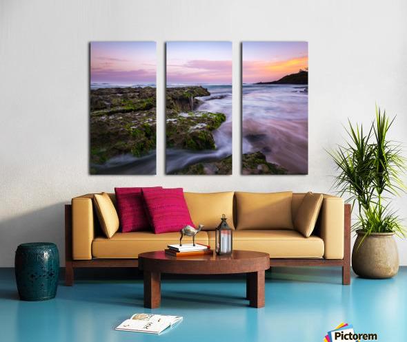 Colorful Sunrise Split Canvas print