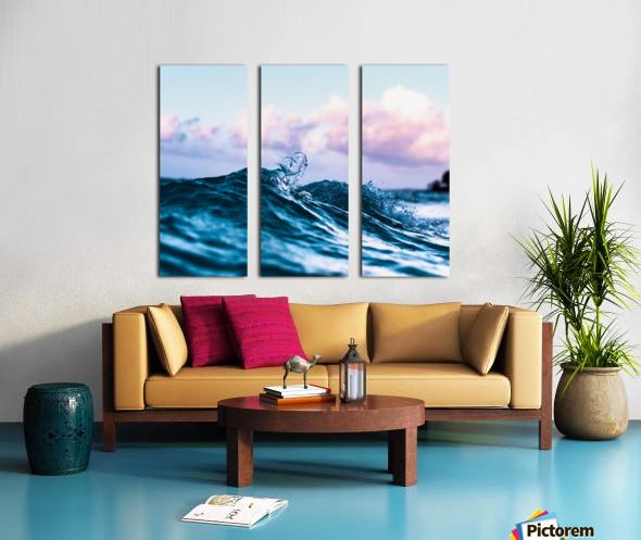 Loved Split Canvas print