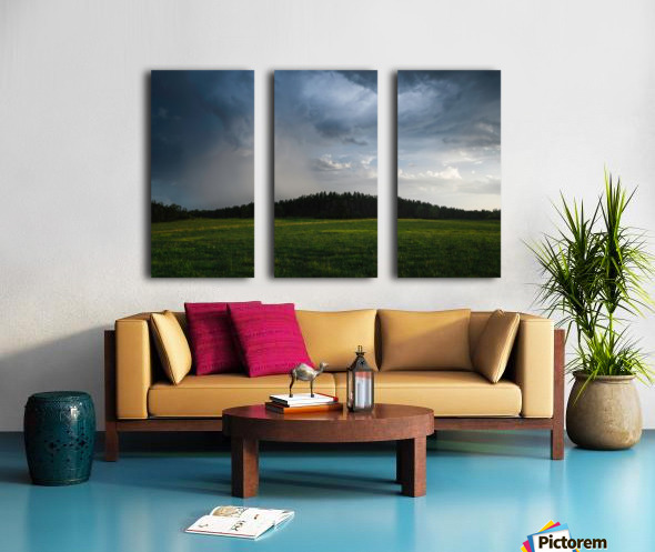Evening Rain Split Canvas print