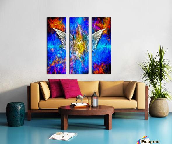 Fallen Angel Split Canvas print