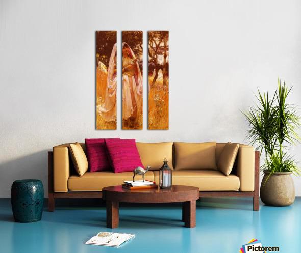 Campagne D Algiers Split Canvas print