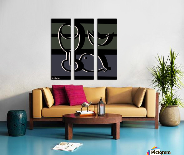 Still Life with a Goblet 2 Split Canvas print