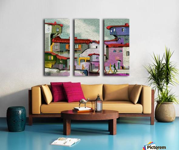 0227 Split Canvas print