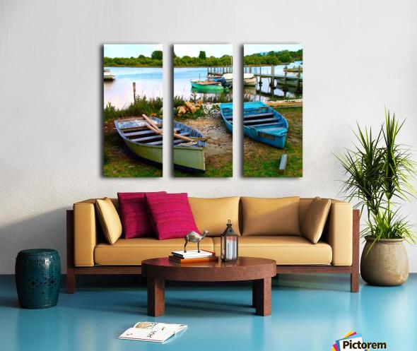 2004_0215Cedar_Key20042 Split Canvas print