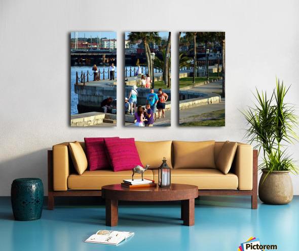 Walmart1731 Split Canvas print