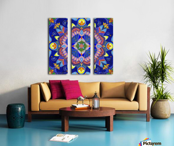 2019 017 Split Canvas print