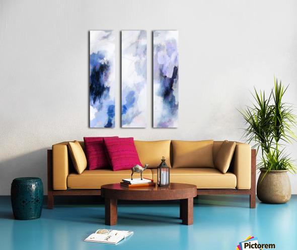 Lavender Cloud Toile Multi-Panneaux