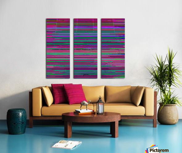 louvers Split Canvas print
