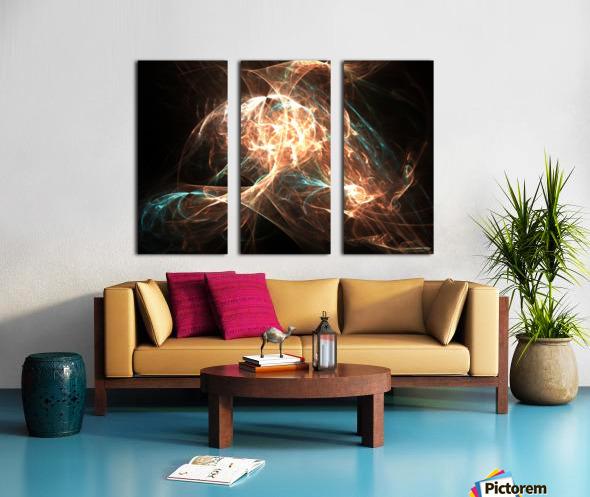 Philosopher Split Canvas print