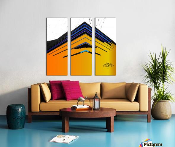 Vanishing by dePace Split Canvas print