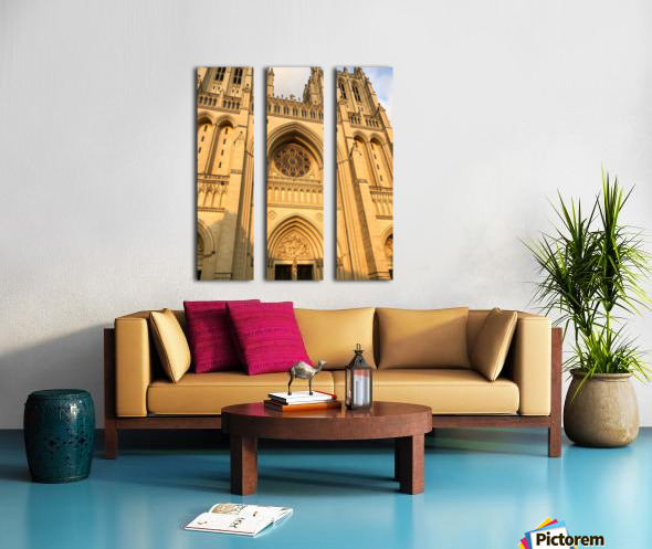 National Cathedral Split Canvas print