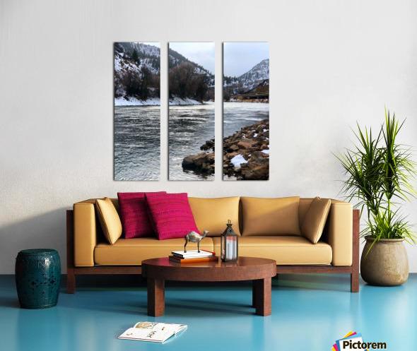 Colorado River Split Canvas print