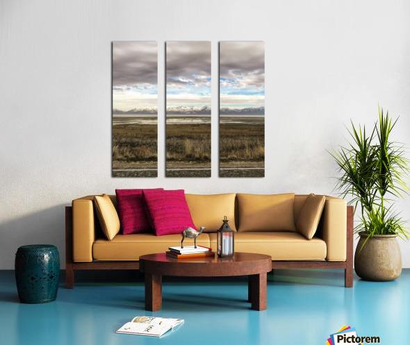 Great Salt Lake Split Canvas print