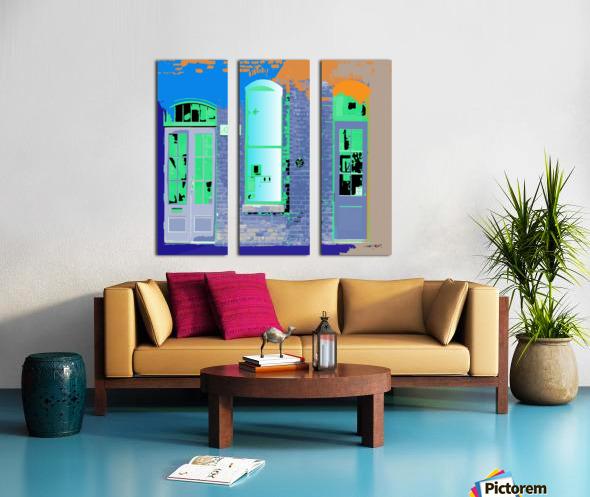 STORE FRONT by dePace Split Canvas print