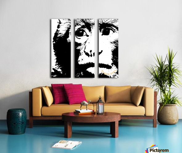 Those Eyes by dePace Split Canvas print
