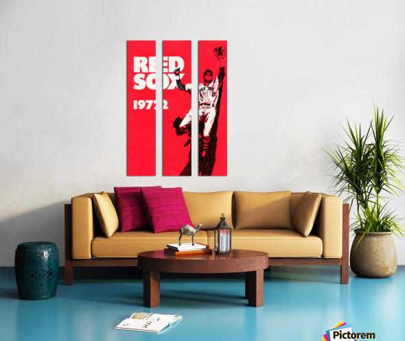 1972_Major League Baseball_Boston Red Sox_Fenway Park_Row One Brand Split Canvas print