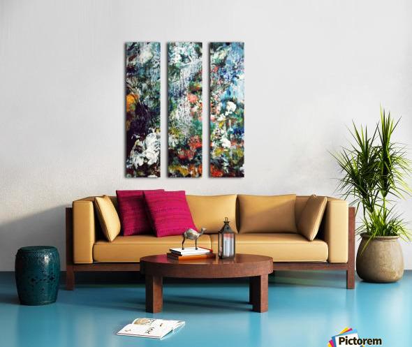 Eden Split Canvas print