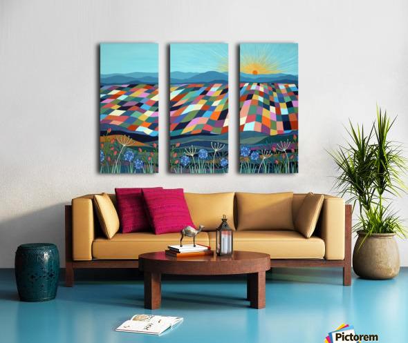 Dont Steal My Sunshine Split Canvas print
