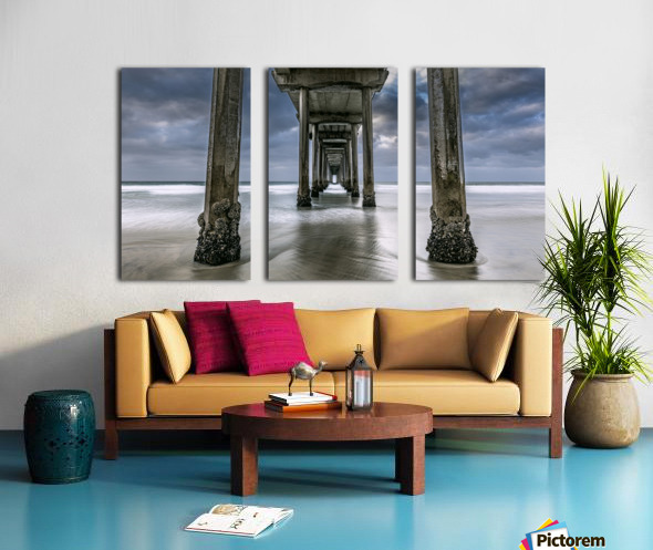The Gate to the Storm Split Canvas print