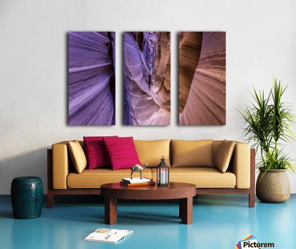 Sandrock Baguette Split Canvas print