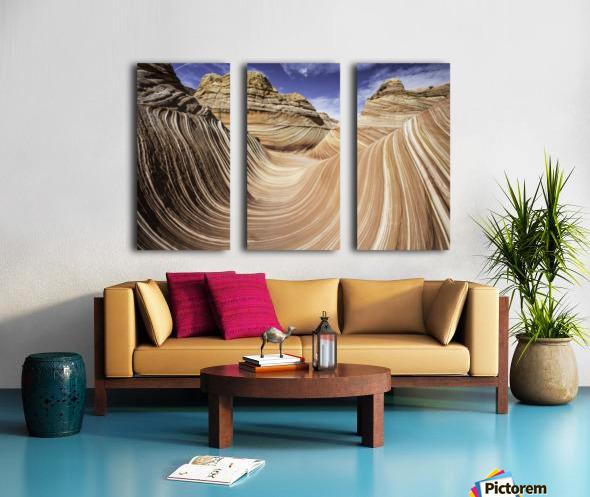 Sand Waves Split Canvas print