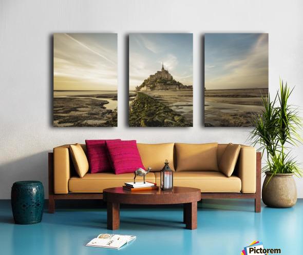 Tides of Normandie Split Canvas print