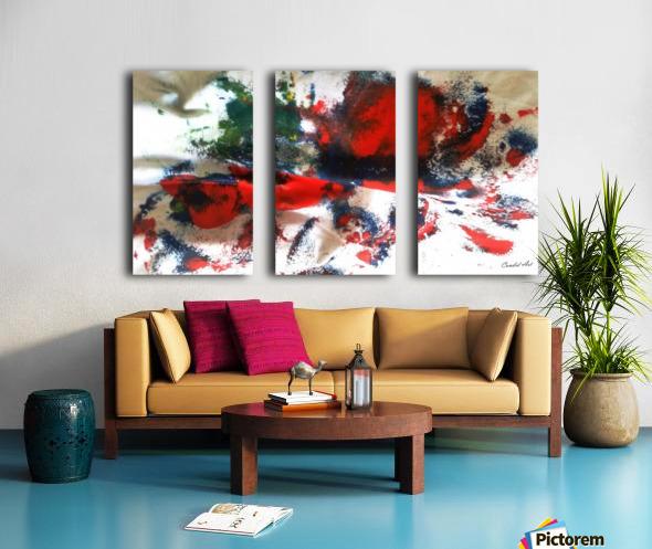 Bowled Fruit 2019 211 Split Canvas print