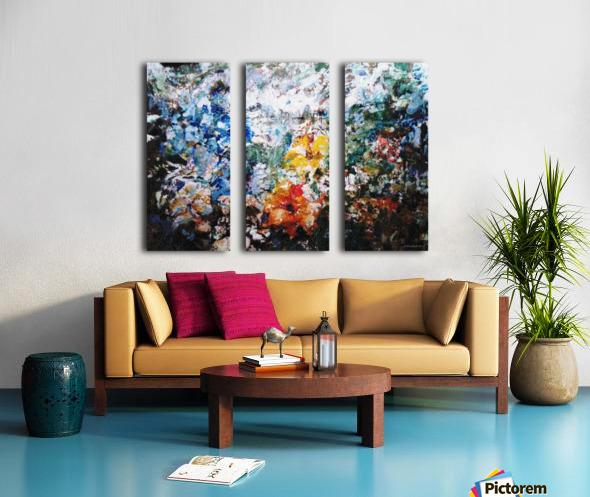 Open Window Split Canvas print