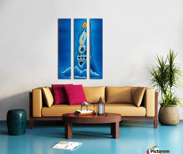 2004 02 Split Canvas print