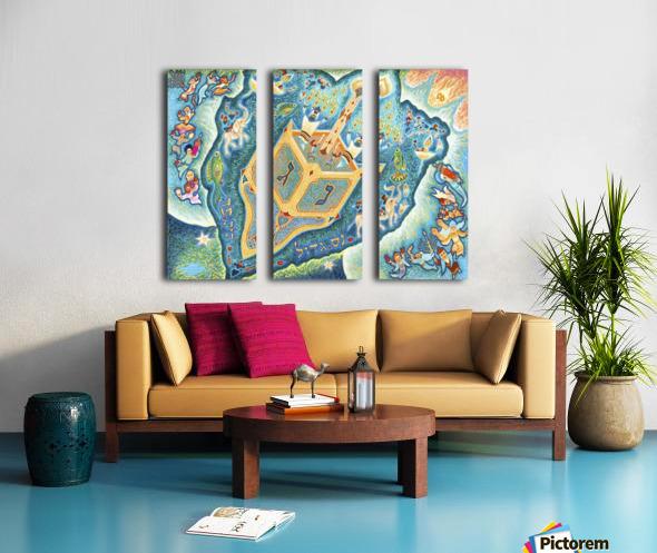 2000 03 Split Canvas print