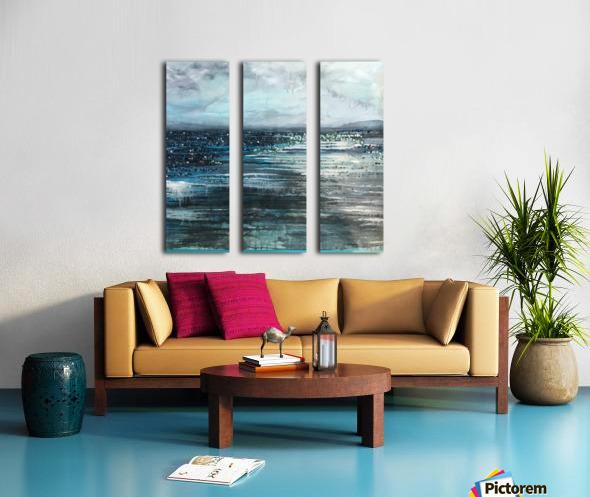 Before the Storm V Split Canvas print