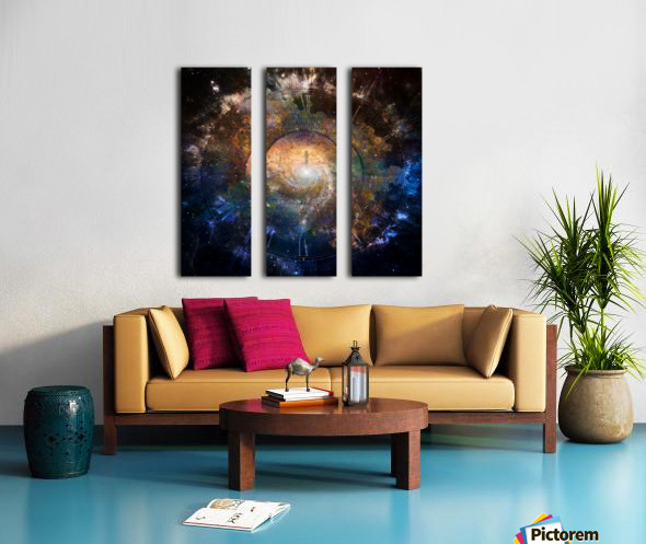 The Path to Eternity Split Canvas print