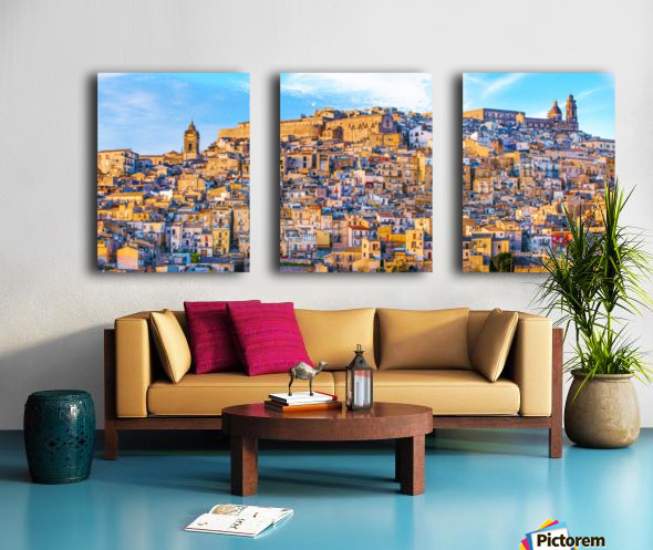 Caltagirone CT Split Canvas print