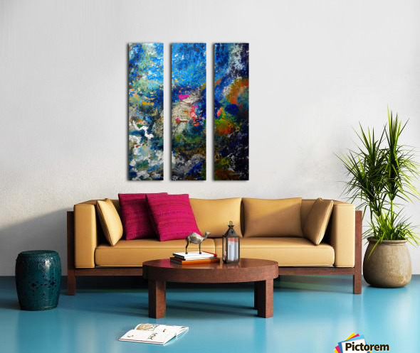 Deep Split Canvas print