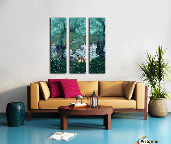 1993 014 Split Canvas print