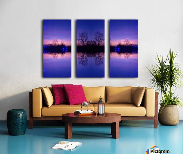 Cloudes 91 Split Canvas print