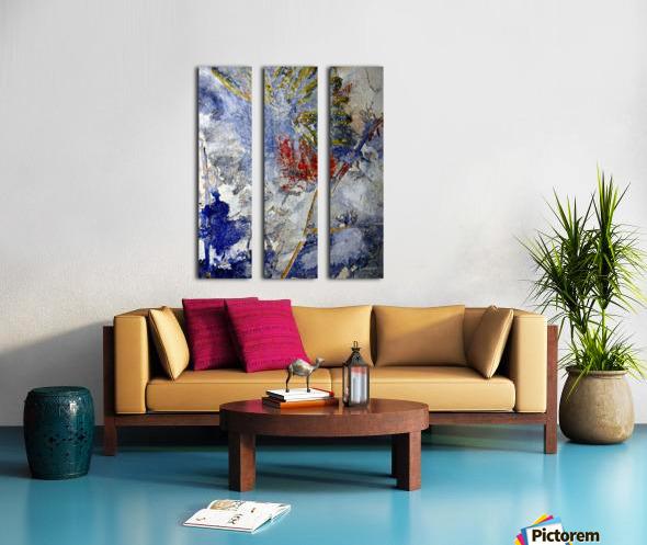 Abstract Single Split Canvas print