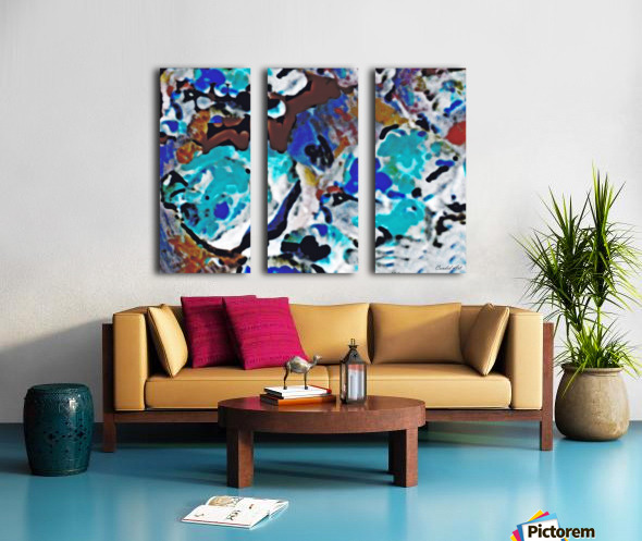 Specifically Untitled Split Canvas print