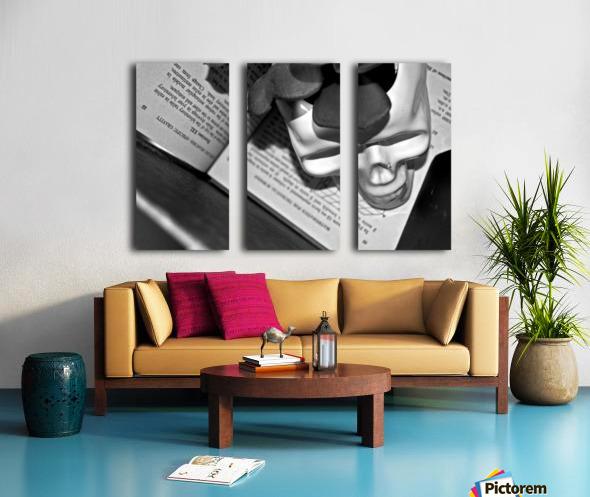 Box Me In Split Canvas print