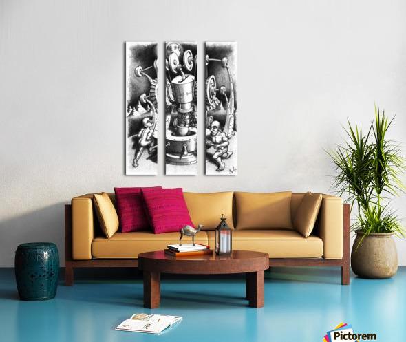 WES Split Canvas print