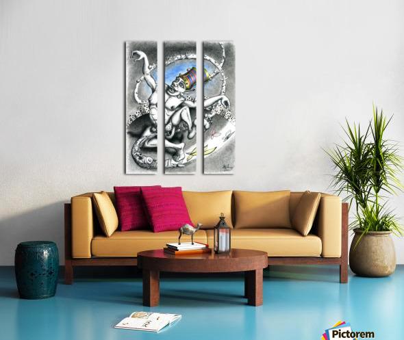 Madness_of_Major_Privalov Split Canvas print