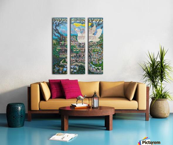 1997 024 Split Canvas print