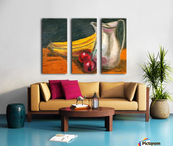 Fruit for Lunch Split Canvas print