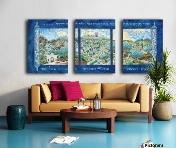 1998 033 Split Canvas print