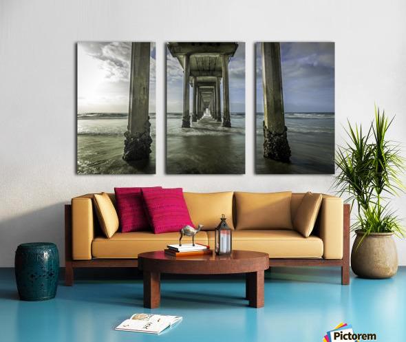 Explore Split Canvas print