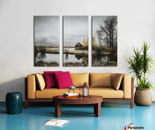 The Cabin Split Canvas print