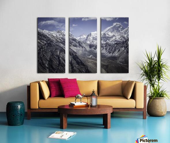Everest Split Canvas print