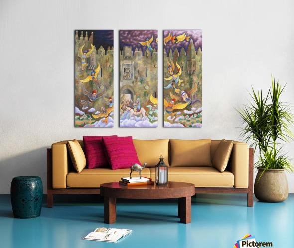 1999 046 Split Canvas print