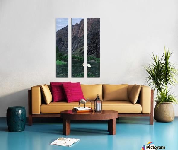 1988 014 Split Canvas print