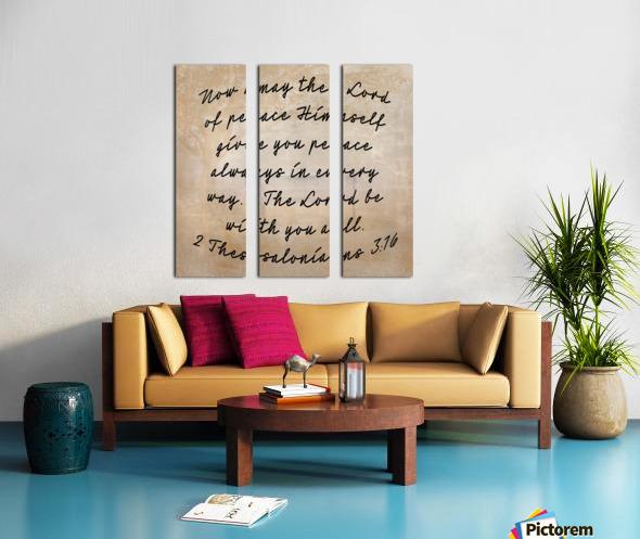 Peace is possible Split Canvas print